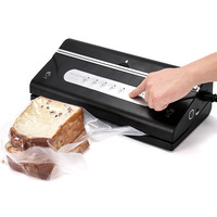 9 Multifunction Electric Vacuum Sealer Packaging Machine For Home Kitchen With 10pcs Food Saver Bag and one roll bags QH 1688