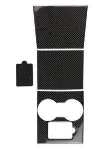 Heenvn Console-Wrap Carbon-Fiber-Sticker Y-Accessories Tesla-Model Car-Center for 3 4pcs/Set