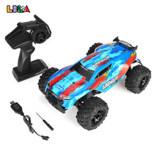 LBLA C14 1:14 RC Car 25km/h 4WD 2.4Ghz Remote Control Crawler Racing Off Road Vehicles Truck Kids Toys Gifts for Children