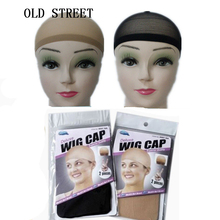 Fashion Stretchable Mesh Wig Cap Weaving Hair Net Hairnet Snood Glueless Dome Unisex Elastic