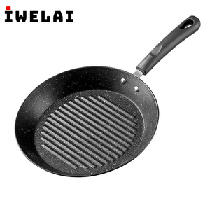 IWELAI Frying Pot Thickened Omelet Pan Non-stick Egg Pancake Steak Pan Cooking Egg Ham 25CM Pans Breakfast Maker