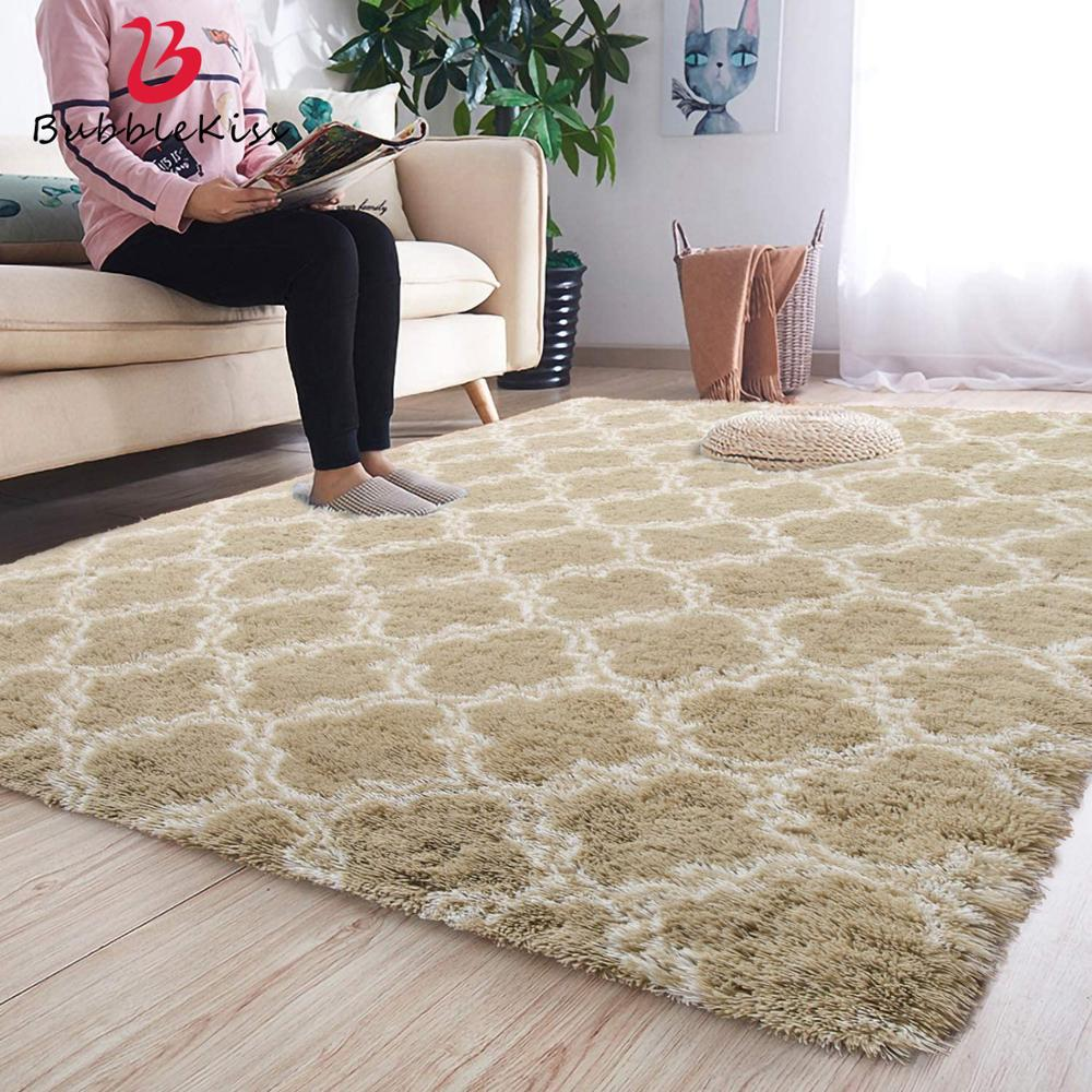 Bubble Kiss Soft Carpets For Living, Soft Area Rugs For Living Room