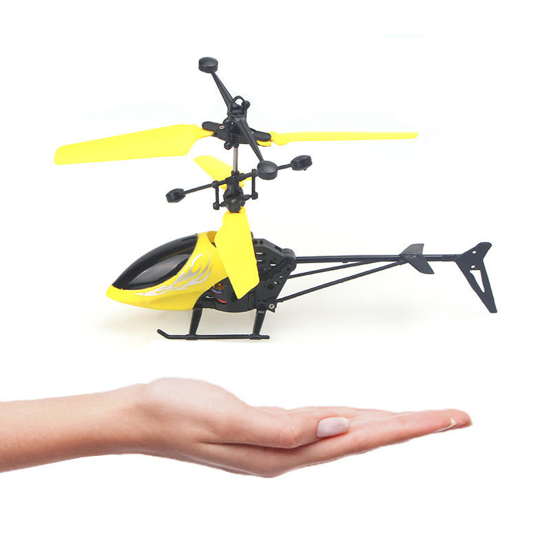 Cross Border Toy Mini Sensing Suspension Helicopter Aircraft Children Remote Control Aircraft Suspended UFO Toy
