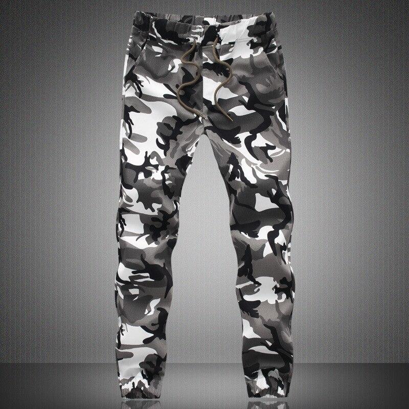 Mens Jogger Autumn Tactical Pants Man Camouflage Military Pants Loose Comfortable Cargo Trousers Cotton Camo Jogger