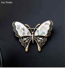 Fashion personality shell material brooch /  Cartoon dragonfly dancer guitar