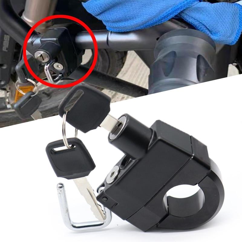 Acessórios da motocicleta capacete anti-roubo bloqueio de segurança para kawasaki z650 z900 z900rs z 650 z800 z1000