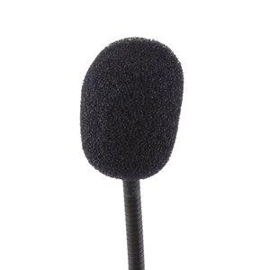 Image 4 - حامل مرن صغير ستوديو خطاب ميكروفون 3.5 مللي متر التوصيل Gooseneck Mic السلكية ميكروفون للكمبيوتر الكمبيوتر سطح المكتب دفتر #21230