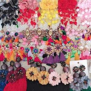 Модные роскошные длинные висячие серьги с кисточками, эффектные серьги в стиле бохо, блестящие Висячие серьги для женщин, свадебное украшен...
