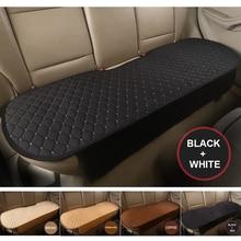 Car Interior anti-slip Breathable Cushioning Mat Protection Soft Bench Rear Seat Cushion Pad 140*50cm