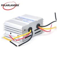 Aluminum Alloy Shell Buck Power Supply  Power Converter 10A 24 V To 12 V 180W  Car Inverter Car Transformer|Car Inverters|   -