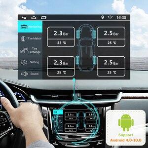 Image 2 - Deelife usb tpms androidのカーラジオdvdプレーヤーオートタイヤ監視圧力システム内部外部センサーtmpsアンドロイド