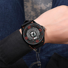 Speed Plate Dial Racing Design Fashion Men Watch 3D Scale Date Display Exposed Movement Watch Men Waterproof Quartz Wristwatch цена