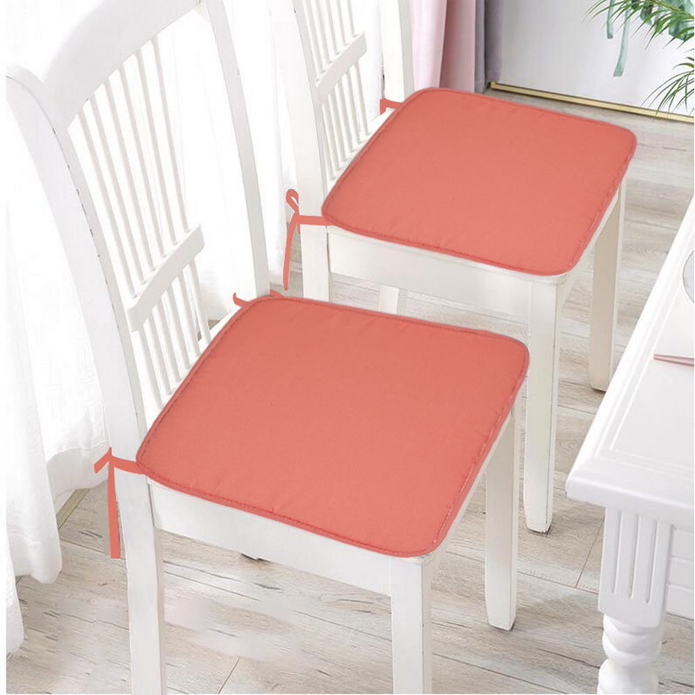 Image 3 - 37X37cm Chair Pad Cushions Seat For Home Office Dinning Chair Solid Color Indoor Outdoor Seat Chair Pad Home Decor-in Cushion from Home & Garden