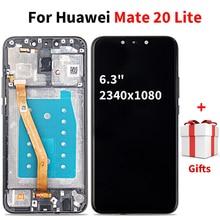 Lcd Diaplay עבור Huawei Mate 20 לייט מסך מגע Digitizer החלפת פטרון עבור Mate 20 לייט SNE L21 SNE LX3 SNE LX1 LX2 l23