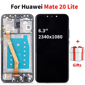 Image 1 - Lcd Diaplay עבור Huawei Mate 20 לייט מסך מגע Digitizer החלפת פטרון עבור Mate 20 לייט SNE L21 SNE LX3 SNE LX1 LX2 l23