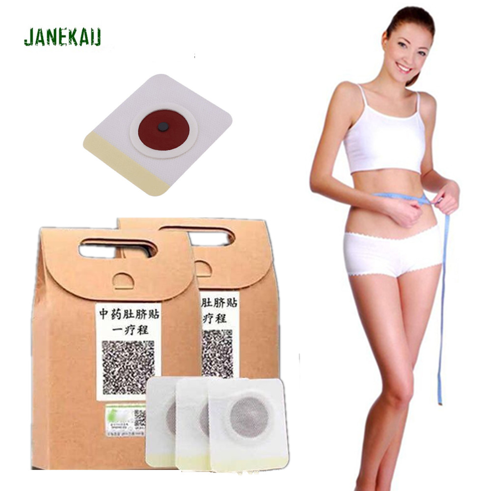 10-40Pcs Chinese Medicine Weight Loss Navel Sticker Magnetic Slim Detox Adhesive Sheet Fat Burning Slimming Diet Patch Pads