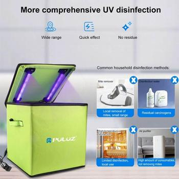 Portable UV Sterilization Bag 19pcs Ultraviolet Lamp Tubes Germicidal Foldable Disinfection Bag for Underwear Phone