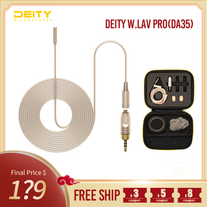 Image 1 - Deity W.Lav Pro(DA35) IP57 Waterproof rating 4mm in Diameter professional lavalier Microphone for movie making