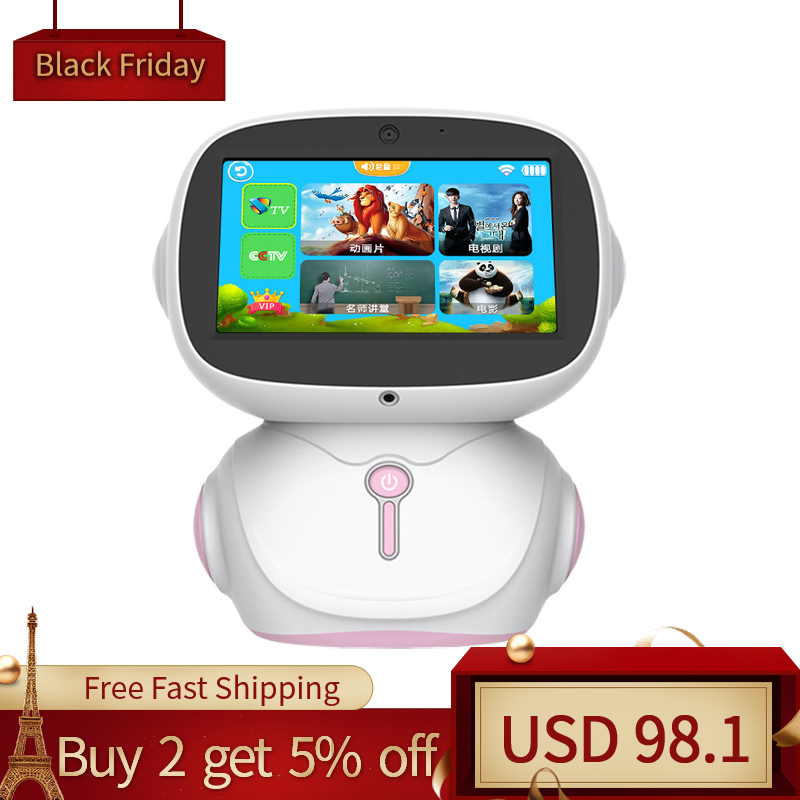 Children's Early Education Robot Toy WIFI Voice Dialogue Dot Reading Machine Education Companion Learning Machine