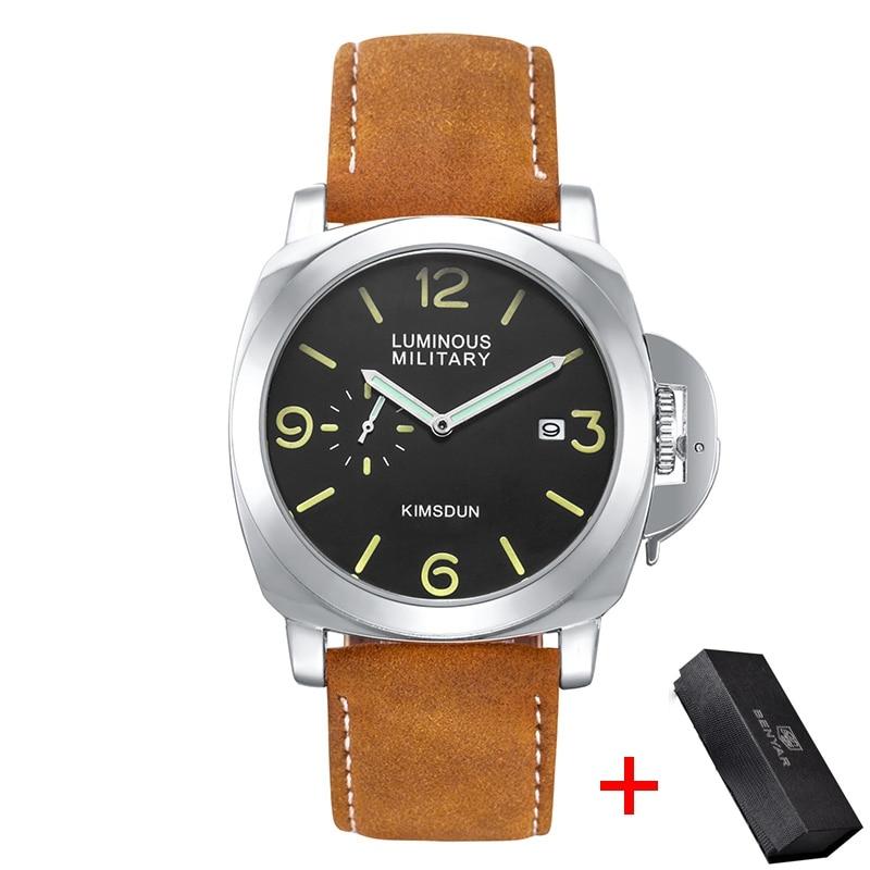 Fashion Luxury Brand Sport Watch Men Waterproof Quartz Leather Military Wrist Watch Men Army Clock Male relojes hombre hodinky
