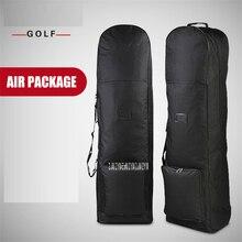 Сумка для гольфа для путешествий с колесами, Большая вместительная сумка для хранения, практичная сумка для гольфа, авиационная складная сумка для самолета, дорожные сумки HKB002
