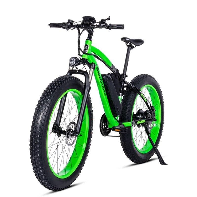 26inch fat ebike 48V500w bafang motor electric mountain bicycle electric snow font b bike b font