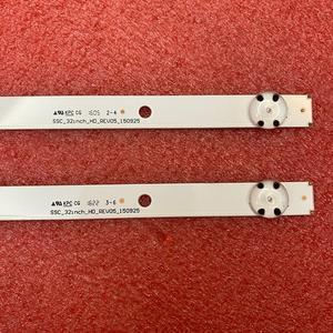 Image 4 - 2pcs tira retroiluminação LED para LG 32LH519U 32LH51HD 32LH590U 32LH510B 32LF510U 32LF510B 32LH516A 32LH517A 32LH518A 32LH51_HD S