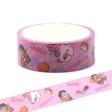 CA145 Steven Universe Washi Tapes Pink DIY Painting paper Masking tape Decorative Adhesive Tapes Scrapbooking Stickers недорого