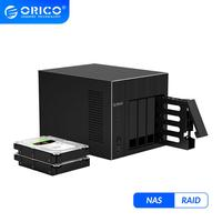 Orico Os Serie Nas 2.5 ''3.5'' Nas 4-Bay Network Attached Storage Hdd Docking Station Case Voor laptop Pc Hdd Storage Enclosure