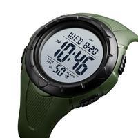 SKMEI Men's Sport Digital Watch Outdoor Men Watch Simple 5bar Waterproof Light Display Alarm Clock montre homme 1535