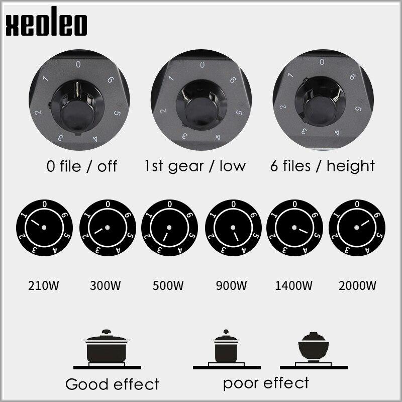 XEOLEO calentador eléctrico estufa placa caliente de cocción electrotermal té/café/leche horno aparato cocina multifuncional - 2