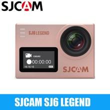 Водонепроницаемая Экшн-камера SJCAM SJ6 Legend 4K 24fps Ultra HD Notavek 96660 дюйма с сенсорным экраном и дистанционным управлением WIFI RAW Sports DV-камера