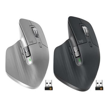 Logitech MX Master3 2.4GHz Bluetooth Mouse 4000DPI Adjustable 7 Button Wireless Dual Mode Flow Speed Mice for Home Office