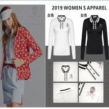 Новинка, одежда для гольфа, женская спортивная одежда, футболка с длинными рукавами, Весенняя и осенняя Повседневная Толстовка