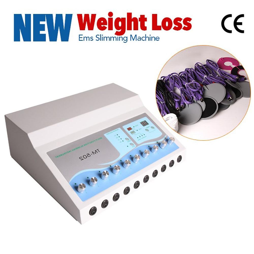 Hot sale TM-502 Slimming Machine ems muscle stimulator Electrostimulation Machine Russian Waves Electric Muscle Stimulator