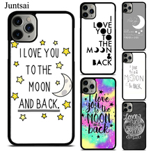 Juntsai I Love You To The Moon And Back TPU Phone Case For
