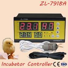 ZL-7918A Thermostat Multifunctional Temperature Automatic Controller Automatic Incubator Temperature Humidity Controller XM-18