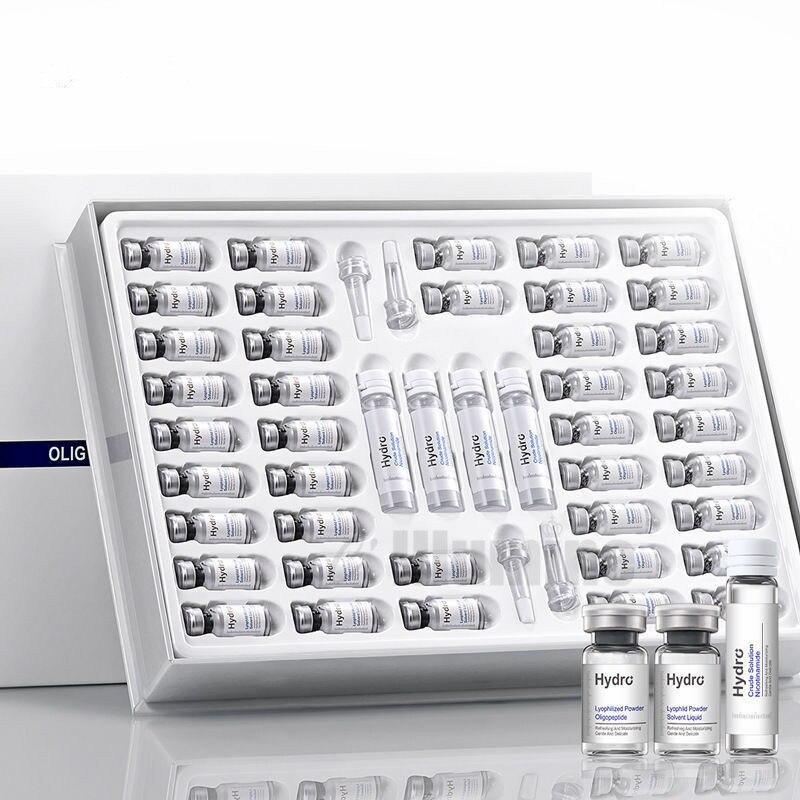 Oligopeptide Nicotinamide Lyop hilized Powder Pack Moisturizing Repairing Shrinking Pores Removing Blood Silk Skin Care Set