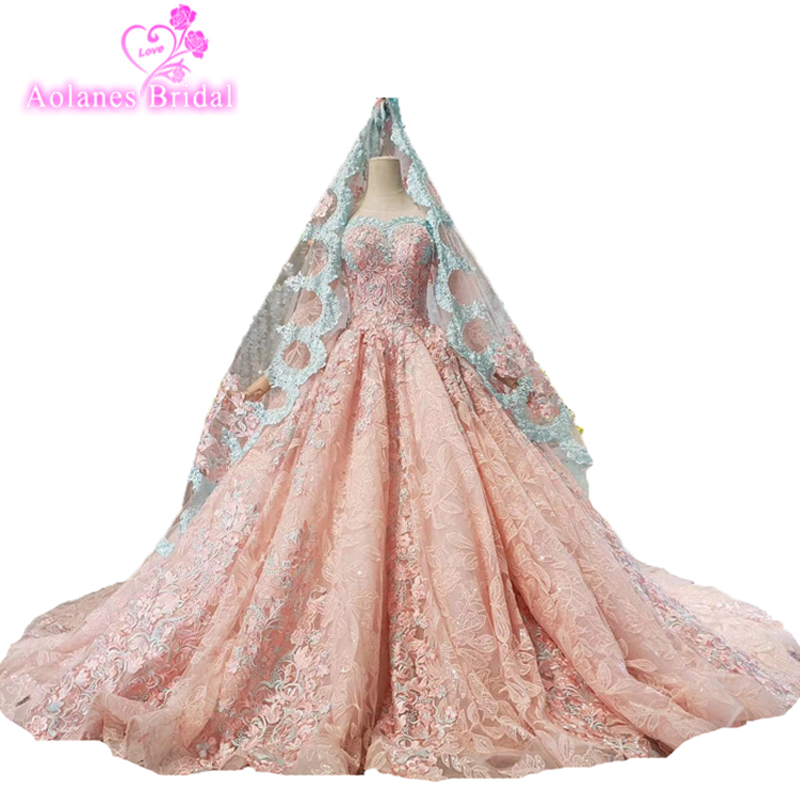 Prom Dress Pink Colors Lace Wedding Party Dress Custom Made Formal Evening Gowns Robe De Kaftan Dubai Middle East Women Dress
