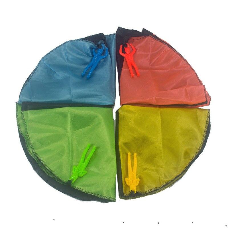 Ночной рынок стойло Горячая Открытый Повседневный бочонок солдат мини парашют детей ручной парашют курица игрушка