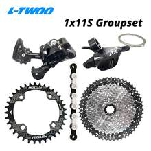 LTWOO AX 1X11S 11S 11 Speed Groupset shift lever rear derailleur KMC X11 SUNSHINE Cassette 46T 50T 52T MOTSUV Chainring 32-38T(China)