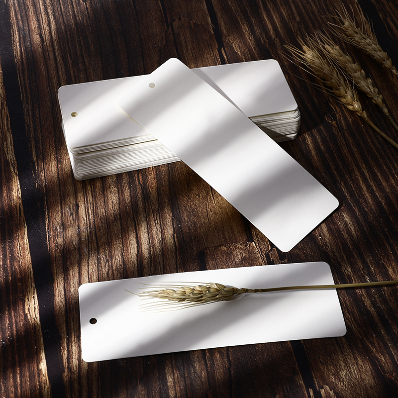 50Pcs/Lot Bookmark Paper Blank Card Creative Small Fresh Student Bookmark Aantique DIY Hand-painted Chinese Style Wholesale