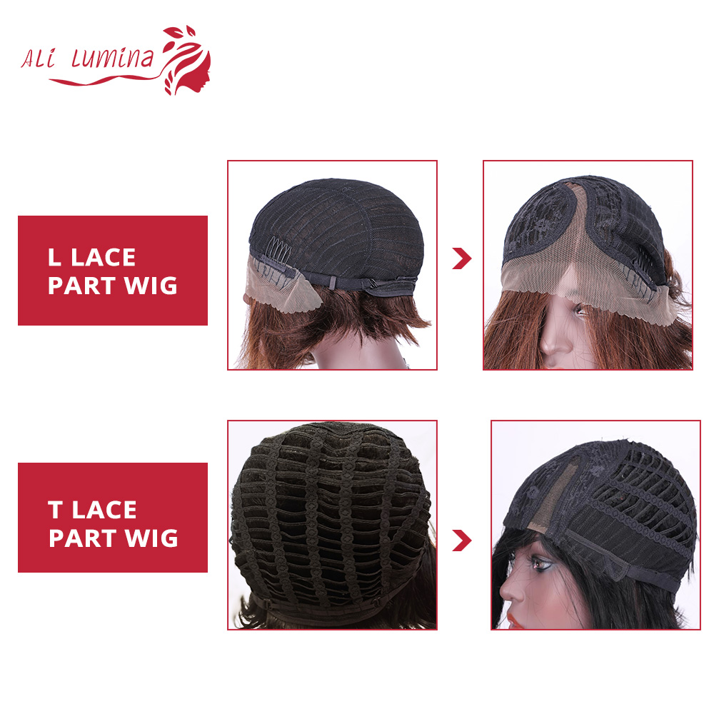 Straight Pixie Cut Short Wig Ali Lumina 5