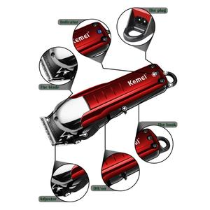 Image 4 - Máquina de cortar cabelo profissional de 100 240v para barbeiro aparador de cabelo elétrico poderoso máquina de barbear de cabelo barba corte de navalha elétrica