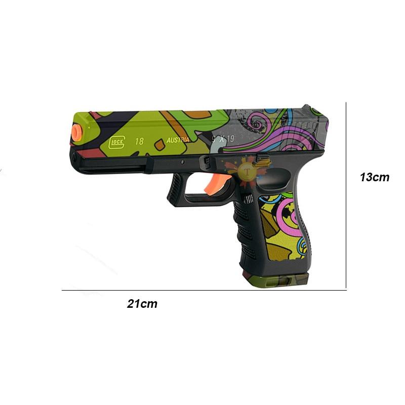 Pistolet à eau électrique SKD G18 avec balle en Gel