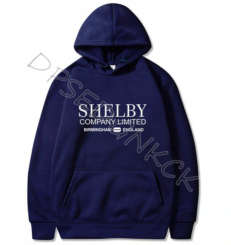 Shelby Company Limited Inspired By Peaky Blinders Printed Hoodies  Humor Men Sweatshirts Men And Women Sweatshirt Tops A21