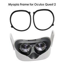Oculus Quest 2 VR 마그네틱 안경 안티 블루 렌즈 프레임 퀵 디스 어셈블 클립 렌즈 보호 Oculus Quest 2 안경
