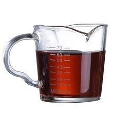 Креативный двойной рот весы стекло термоустойчивая чашка сопротивление прозрачный Круглый бытовой для завтрака Молоко Кофе посуда для напитков