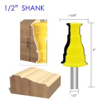 цена на Door & Window Casing Router Bit - 1/2 Shank Line knife Woodworking cutter Tenon Cutter for Woodworking Tools milling cutter
