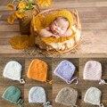Реквизит для фотосъемки новорожденных, Вязаная кашемировая шапка для новорожденных, детский фотокостюм, реквизит для фотосессии, реквизит ...